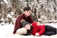 Haley and Austin Snow Session
